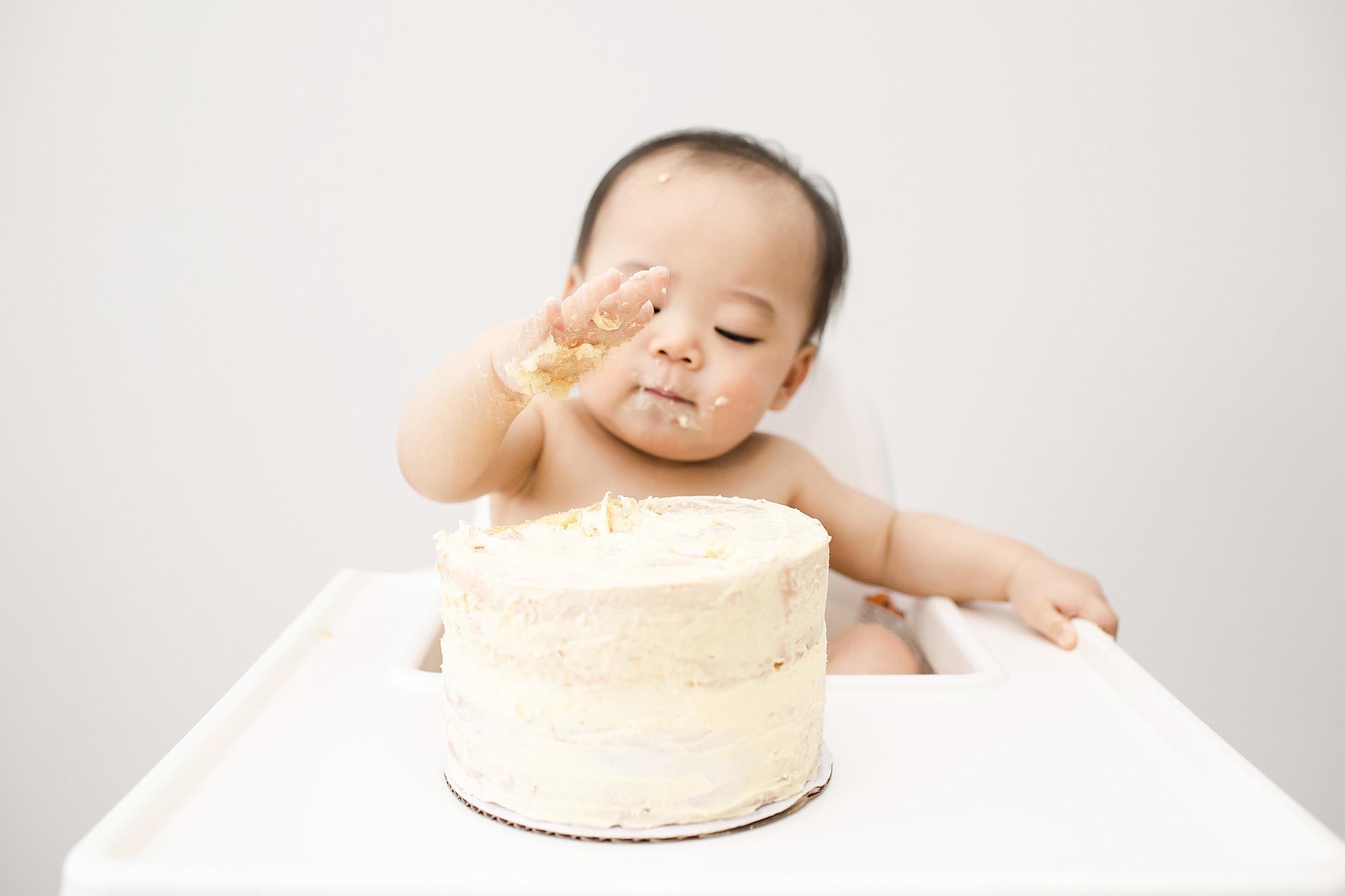 cake smash session milwaukee
