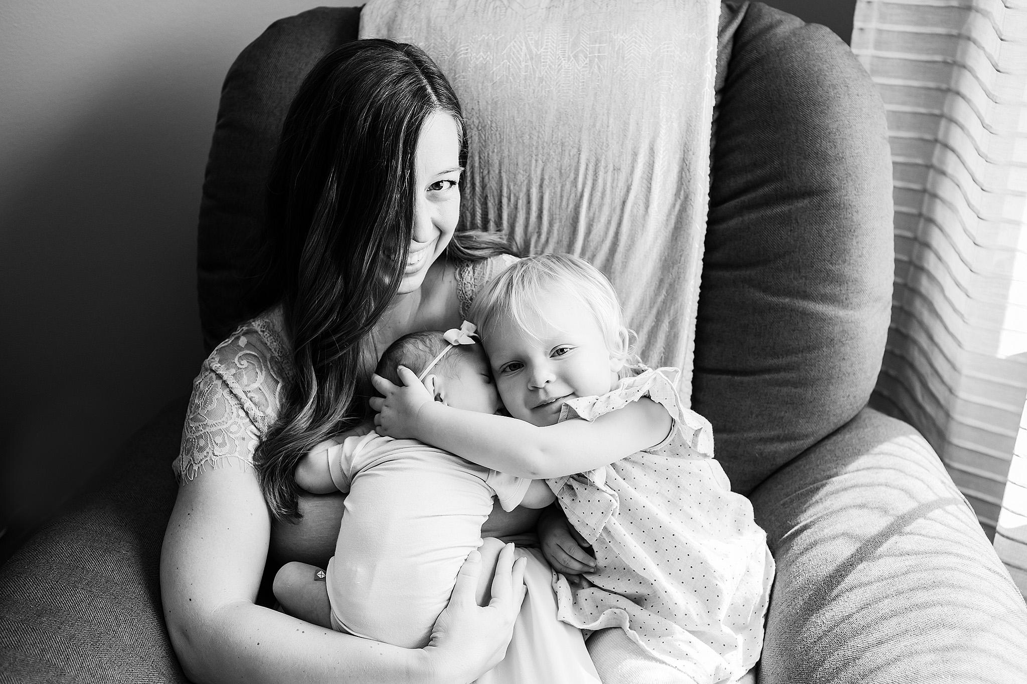 madison wi newborn baby photo session